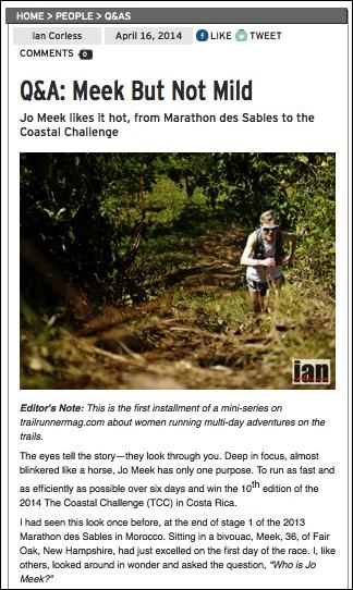 Jo Meek trailrunnermag.com