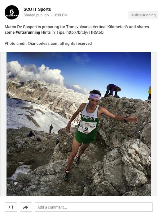Marco De Gasperi Scott Running