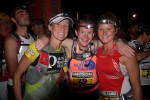 Darcy Africa with Nicky Kimball and Frosty, Transvulcania 2012.