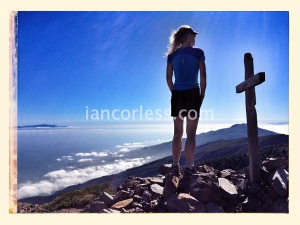 Niandi at Pico de La Nieve 2239m