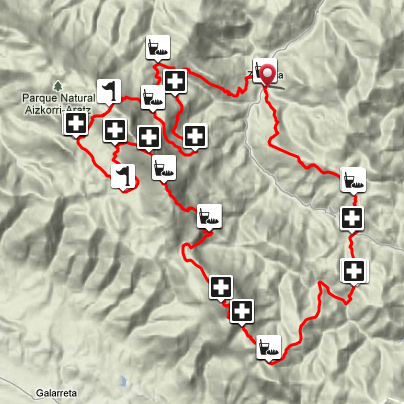 Race Map Zegama