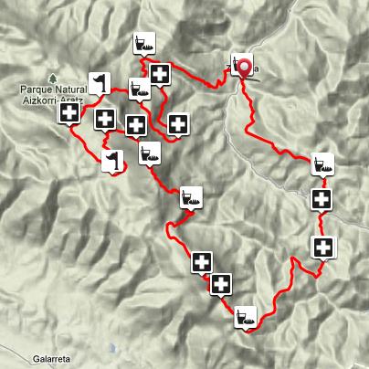 Race Map Zegama