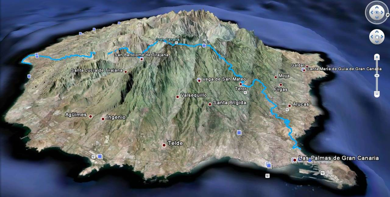 Transgrancanaria Map