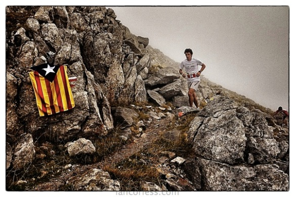 Kilian at Cavalls del Vent 2012 copyright Ian Corless