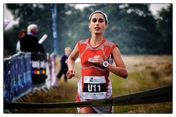 Silvia Serafini at Royal Parks Ultra copyright Ian Corless