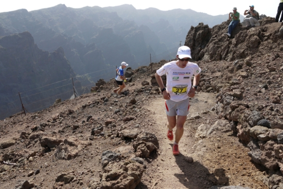Kilian at Transvulcania 2012 copyright Ian Corless