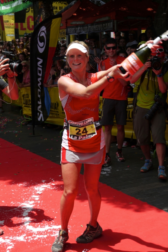 Anna Frost, 2012 winner and course record holder copyright Ian Corless