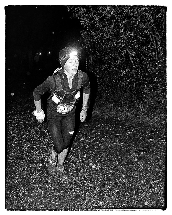 Lizzy Hawker at the 2012 TNF UTMB copyright Ian Corless