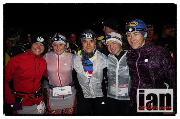Emelie, Frosty, Maud, Lizzy, Nuria copyright Ian Corless