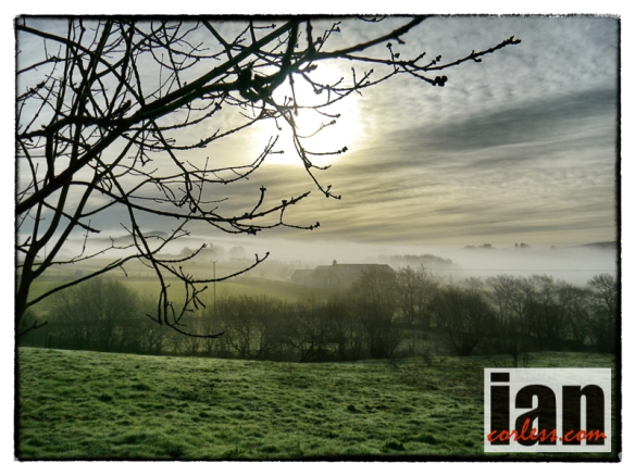A beautiful start to a day... - copyright Ian Corless