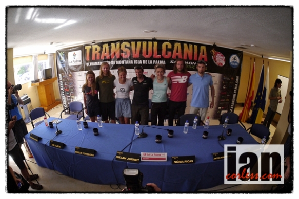 Press conference Transvulcania 2013 - copyright Ian Corless