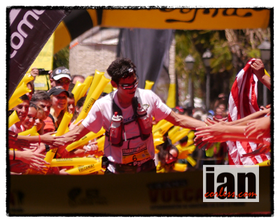 Sage Canaday 3rd place Transvulcania 2013