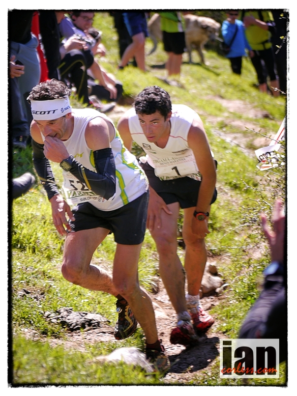 Kilian and Marco, Zegama 2013 copyright Ian Corless
