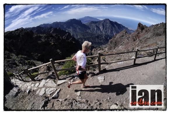 Cameron Clayton at Transvulcani La Palma ©iancorless.com