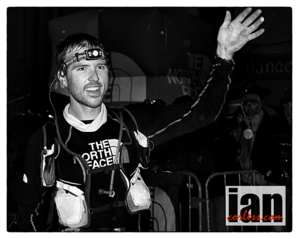 Mike Foote, UTMB 2012 ©iancorless.com