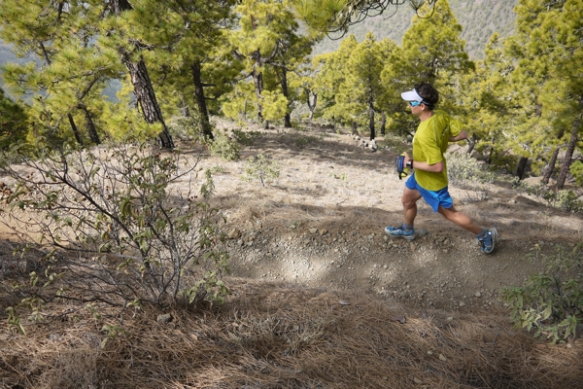 Ian Sharman training in La Palma ©iancorless.com