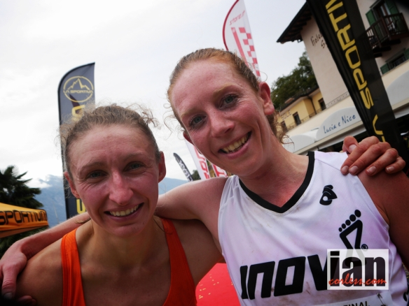 Tessa Hill with fellow Brit, Anna Lupton