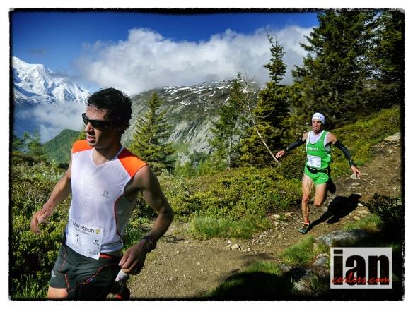 Kilian Jornet & Marco De Gasperi Mont-Blanc Marathon ©iancorless.com