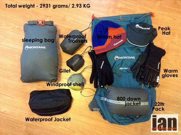 Everest Trail Race - Montane kit - ©iancorless.com