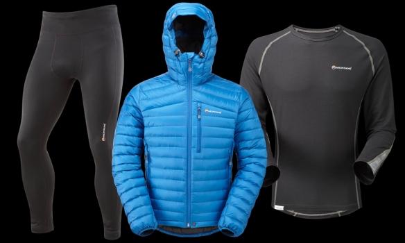 Montane warm layers clothing ©iancorless.com