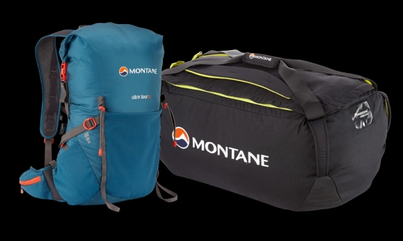 Montane pack and luggage ©iancorless.com