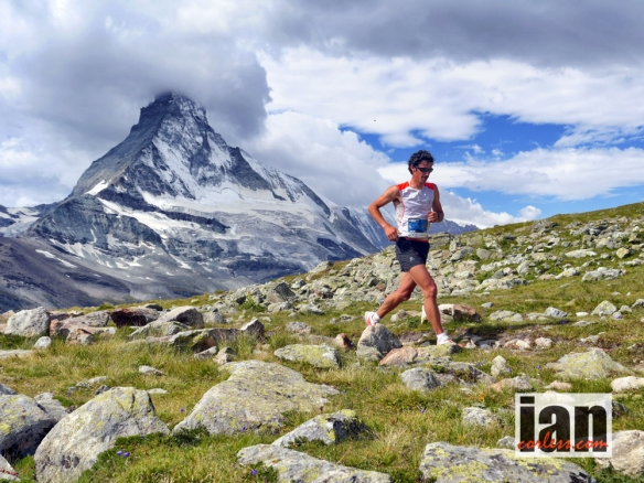 Kilian Jornet and the Matterhorn ©iancorless.com