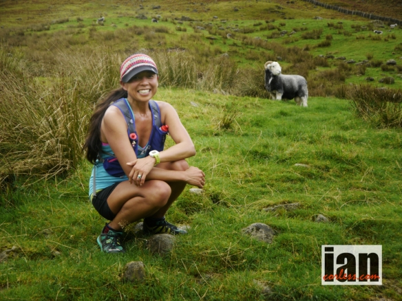 Jenny Jurek in the English Lakes, 2013