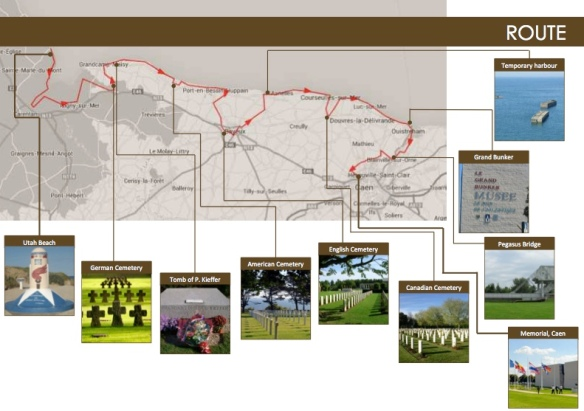 D-Day Ultra Trail Routes