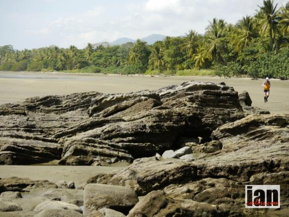 Costa Rican Beaches - stunning but hot! TCC2014 ©iancorless.com