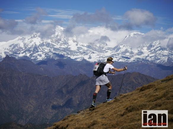 Fernanda Maciel Everest Trail Race ©iancorless.com