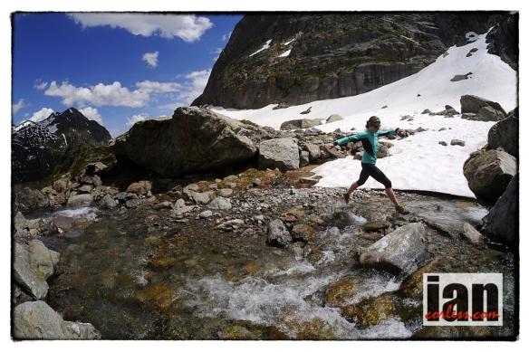 Shona Stepenson, Chamonix ©iancorless.com