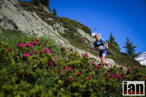Anna Frost Skyrunning World Championships 2014 - Chamonix