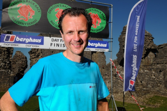 Steve Birkinshaw. Winner of the 2012 Dragon's Back Race™. © Jon Brooke