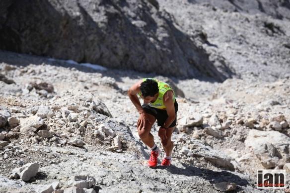 Kilian Jornet at the Dolomites SkyRace 2014