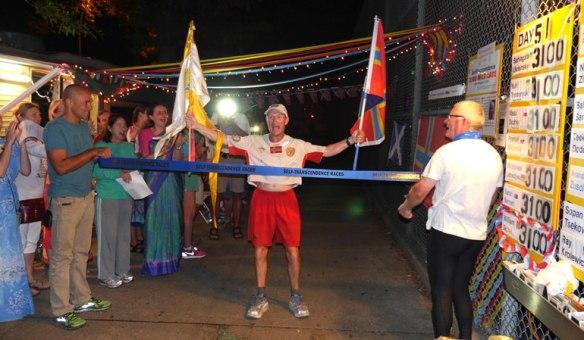 William Sichel 3100-mile Sri Chimnoy