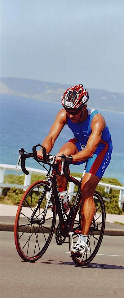 Ian on Bike
