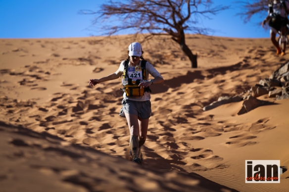 Nikki Kimball on her way to victory in the 2014 MDS.