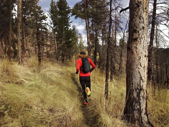 Joe Grant running with RACE ELITE 24 ©inov8