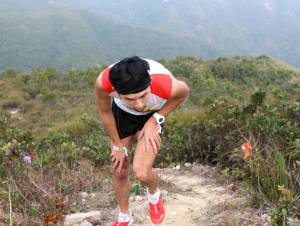 Dai Matsumoto in the 28km race