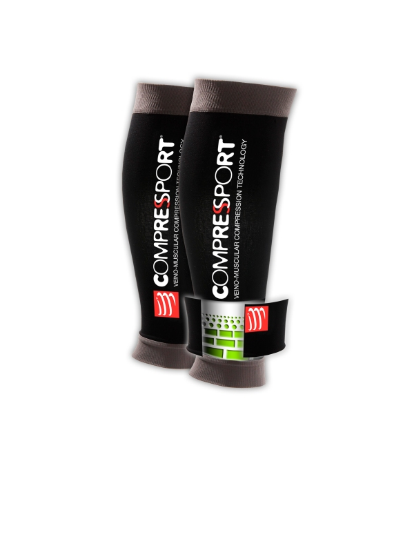 Compressport Paire US Black