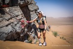 Elisabet Barnes at the 2015 Marathon des Sables