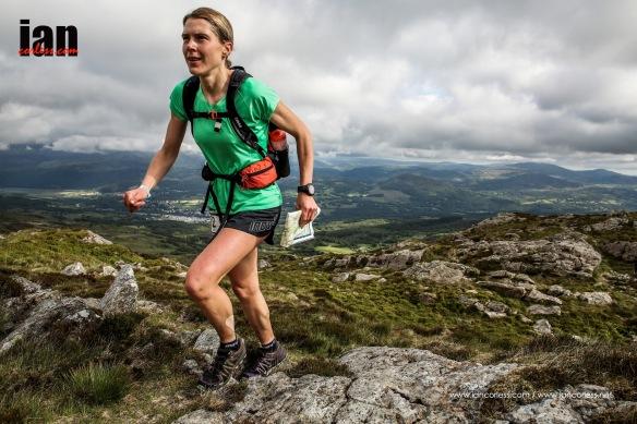 Jasmin Paris - The Berghaus Dragons Back Race