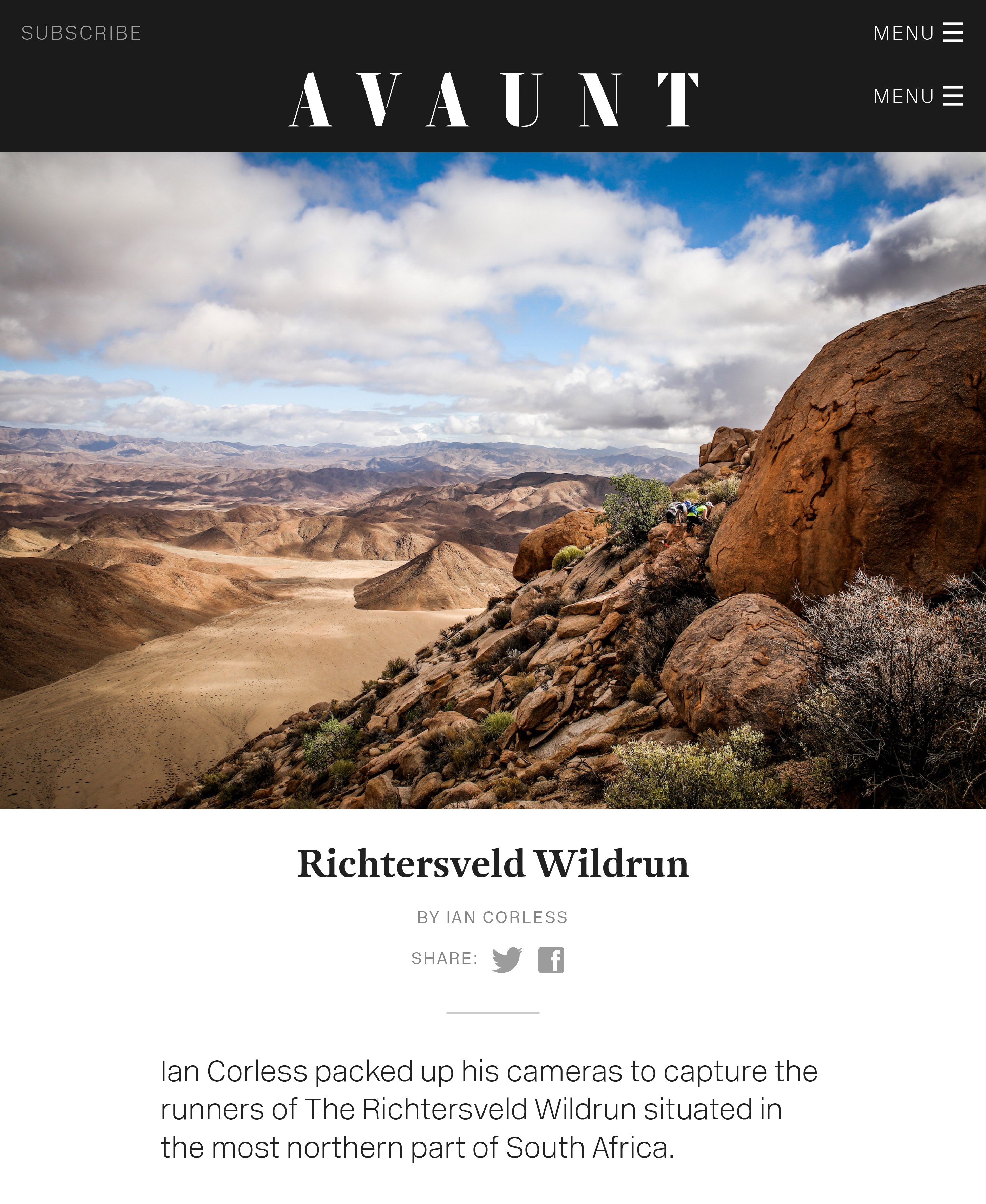 Richtersveld Wildrun | Avaunt Magazine-1