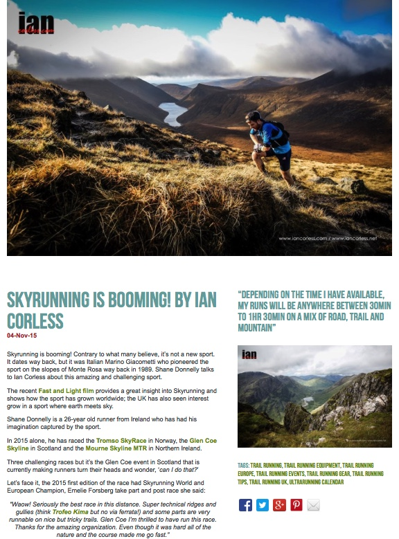 Skyrunning is Booming!