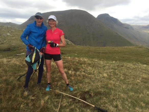 Joss Naylor and Nicky Spinks - image via inov-8 ©DarkPeakFellRunners