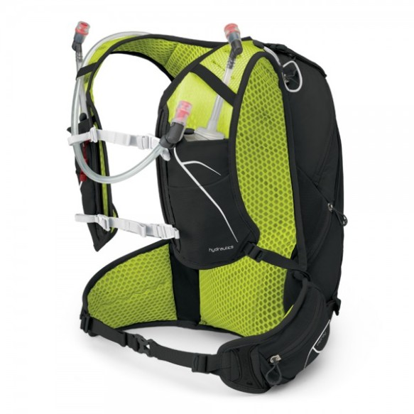 da20238bc21b The rear of the pack is where all the storage comes and sitting closest to  ones back is a large zippered pocket that holds a 2.5ltr bladder.