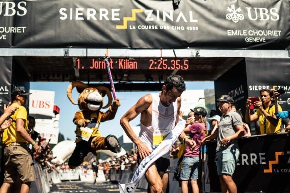 sélection premium bc213 34ca4 Kilian Jornet and Maude Mathys make history at Sierre-Zinal ...