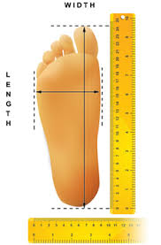 Measure your foot.
